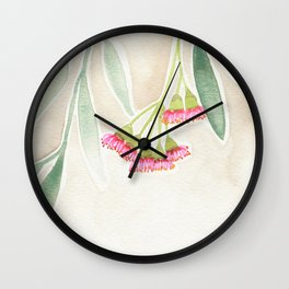 Gum Tree Sketch Wall Clock