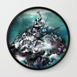 La Cité Divine Wall Clock