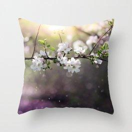 Spring magic Throw Pillow