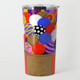 Gumball Machine Illustration Art print Travel Mug