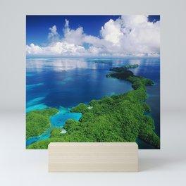 WOW!!! PALAU!! Tropical Island Hideaway Mini Art Print