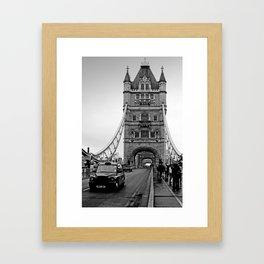 London ... Tower Bridge II Framed Art Print