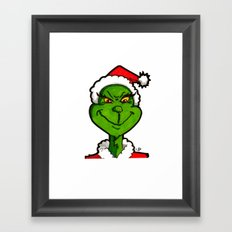 How Grinchy! Framed Art Print