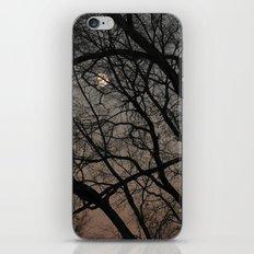 ghost moon iPhone & iPod Skin