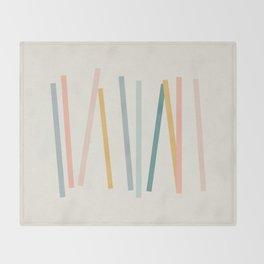 Sticks Throw Blanket