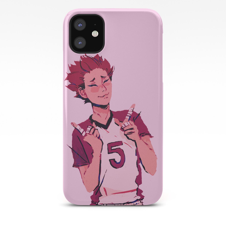 Tendou Satori Haikyuu Iphone Case By Babypears Society6