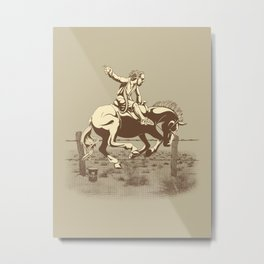 Dude Ranch Metal Print