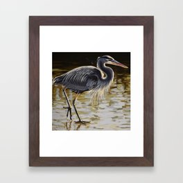 Great Blue Heron 3 Framed Art Print