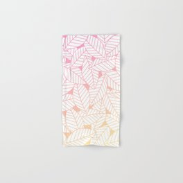 Leaves in Sunset Hand & Bath Towel