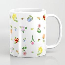 Flourishing Floral Coffee Mug