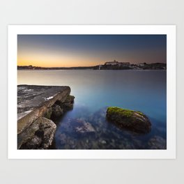 Hospital Harbour Art Print