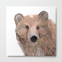 oh bear Metal Print
