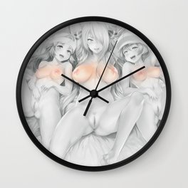Gotta Catch them All Wall Clock