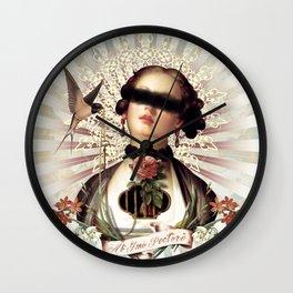 De Mon Coeur Wall Clock
