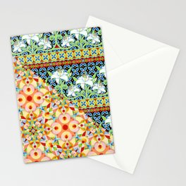 Tangerine Confetti Lilies Stationery Cards