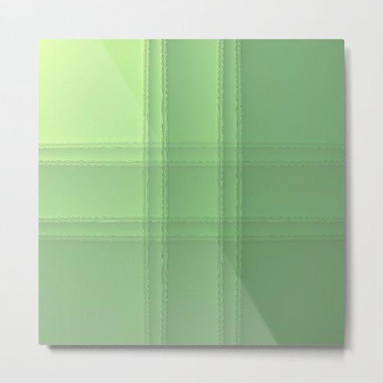 # Green Metal Print