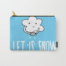 Lovely Cloud - Let is snow Carry-All Pouch