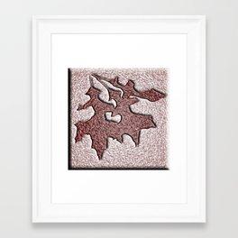 Autumn Set In Stone Framed Art Print