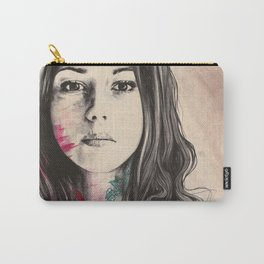 To Have and To Own | flowers tattoo nude woman Carry-All Pouch