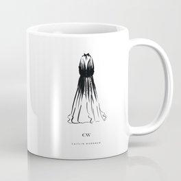 Little Black Halter Dress Coffee Mug