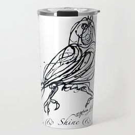 OLena Art Design Rise & Shine & Sing Travel Mug