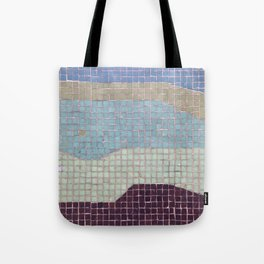 Downtown Mall / Fulton Mall / Mosaic Bench 03 Tote Bag