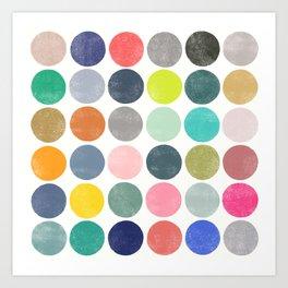 colorplay 18 Art Print