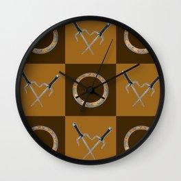 Xena Color Block Wall Clock