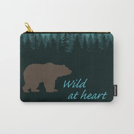 Wild at heart - bear Carry-All Pouch