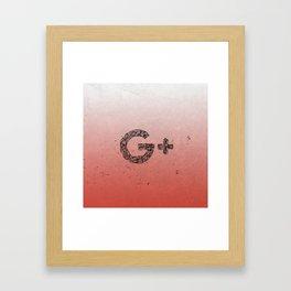 G Renaissance Framed Art Print