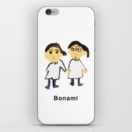 Bon ami !! iPhone Skin