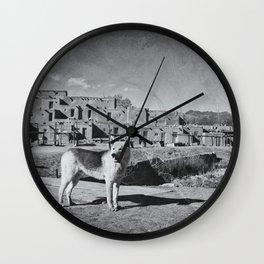 Taos Wall Clock