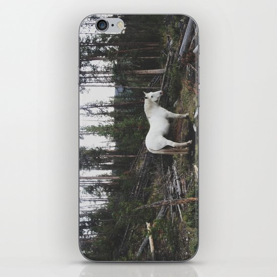 The White Horse iPhone & iPod Skin