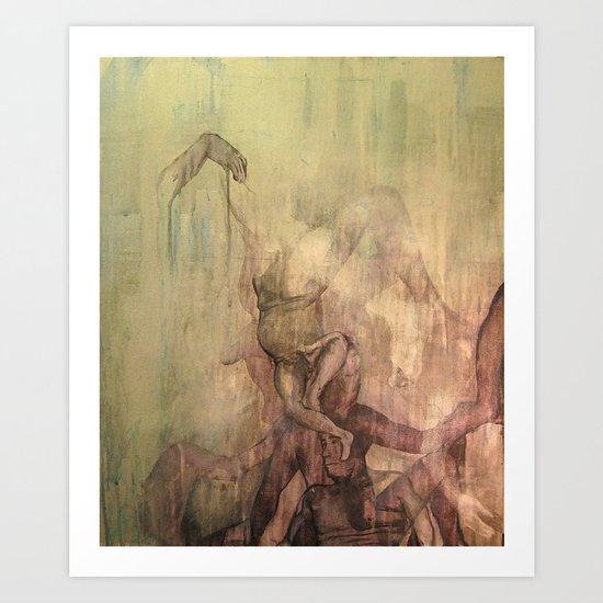 The Ascent  Art Print