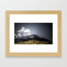 Desert in the Pacific NW Framed Art Print