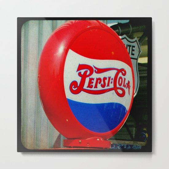 Pepsi Cola Metal Print