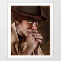 hetalia Art Prints featuring Hetalia print 3 by Milkyol