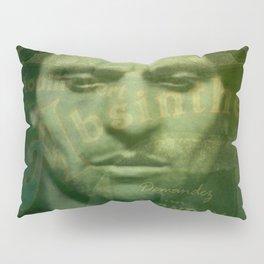 Absinthe, Vintage Advertisement Collage Pillow Sham