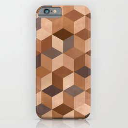 >>HUMANS>> No color is better than another. iPhone Case