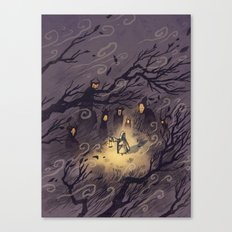Could It Be The Wind? Canvas Print