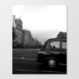 LONDON  BLACK CAB Canvas Print