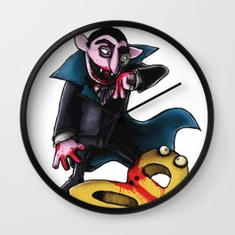 Down For The Count Wall Clock