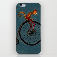 Penny Farthing Pete iPhone & iPod Skin