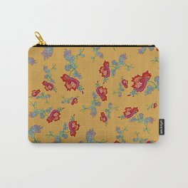 Peony Popper Carry-All Pouch