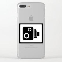 Speed Camera Clear iPhone Case