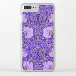 "William Morris ""Pimpernel"" 2. Clear iPhone Case"