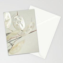 Lunaria Close-up Stationery Cards