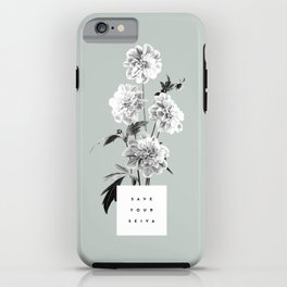 Save Your Seiva iPhone Case