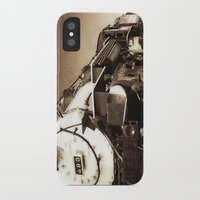 train iPhone & iPod Cases featuring Train by SteeleCat
