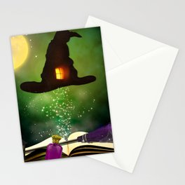 Magic Hat Stationery Cards